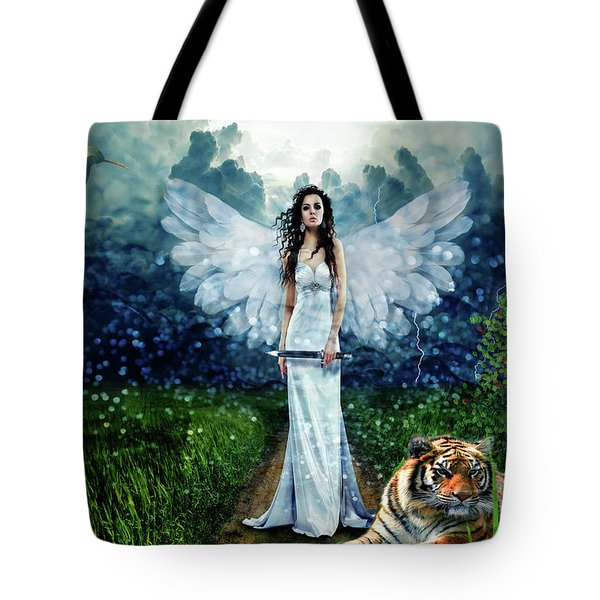 Storm Maiden Tote Bag