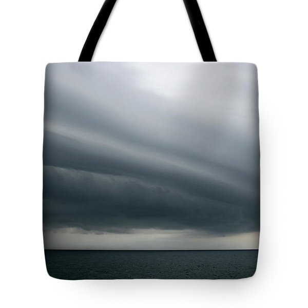 Storm Near Liberia Tote Bag