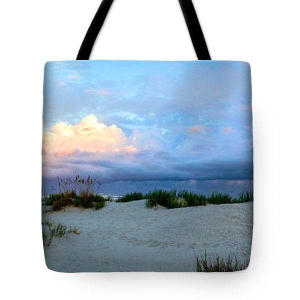 Storm Of Pastels Tote Bag