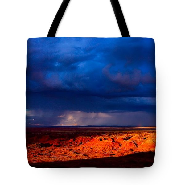 Storm On The Way Tote Bag