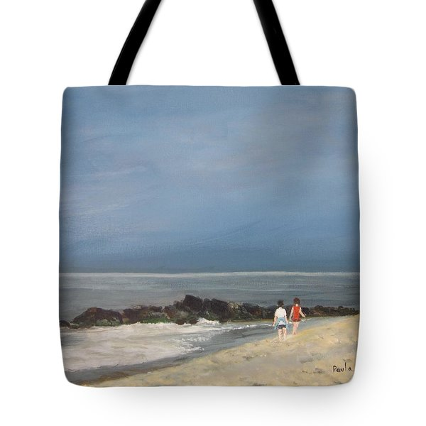 Storm Out To Sea Tote Bag