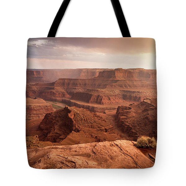 Storm Over Canyonlands Tote Bag