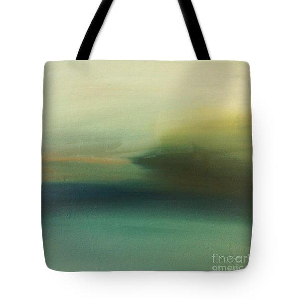 Tote Bag featuring the painting Storm Over Cuba by Michelle Abrams