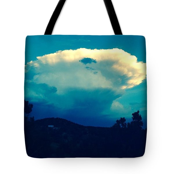 Storm Over Santa Fe Tote Bag
