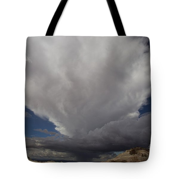 Tote Bag featuring the photograph Storm Over White Pocket by Keith Kapple