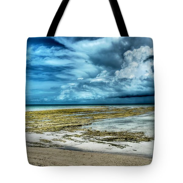 Storm Over Yamacraw Tote Bag