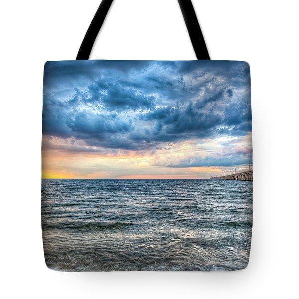 Storm Rising Tote Bag