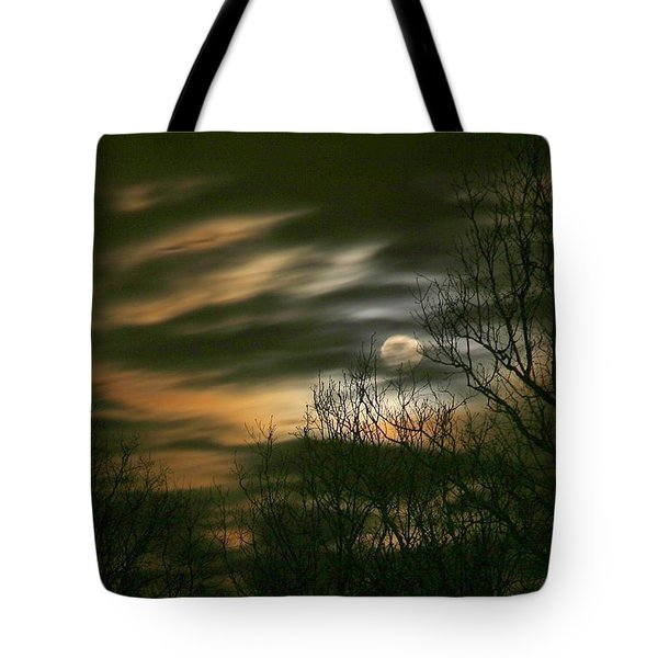 Storm Rollin' In Tote Bag by J R Seymour