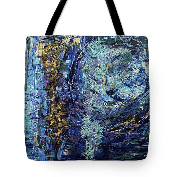 Storm Spirits Tote Bag by Cathy Beharriell