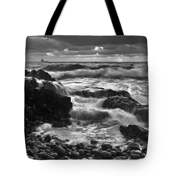 Storm Surge Tote Bag by Bill  Robinson