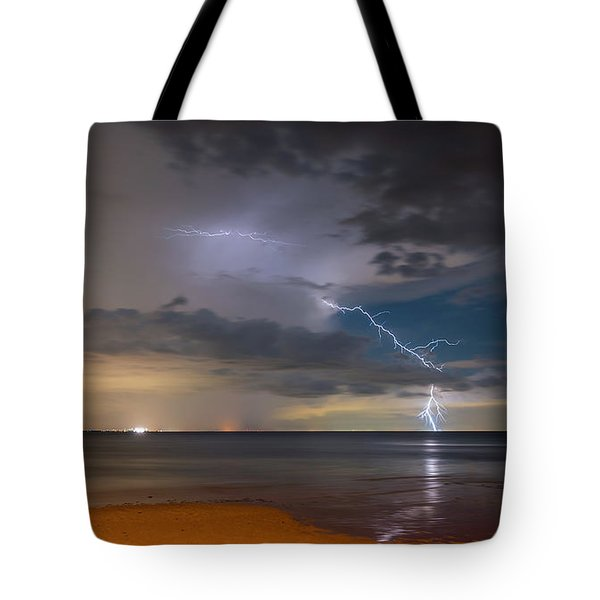 Storm Tension Tote Bag