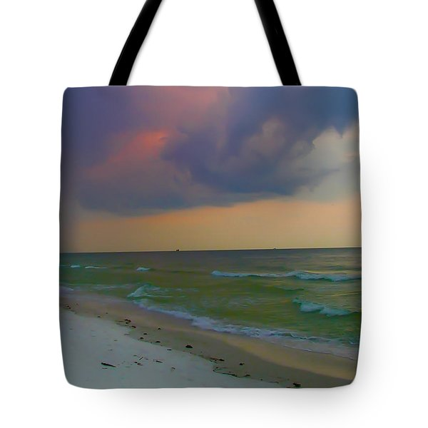 Storm Warning Tote Bag by Bill Cannon
