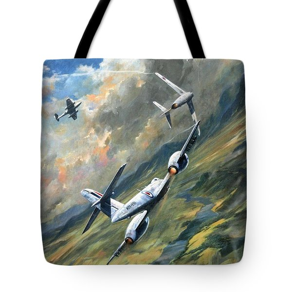 'storm Warning' Tote Bag