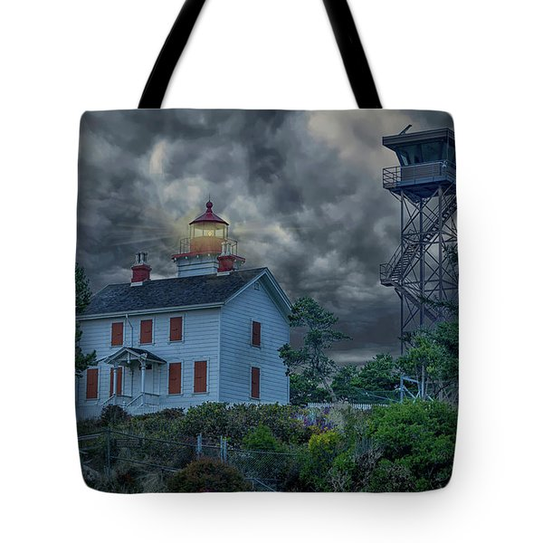 Storm Watch Tote Bag