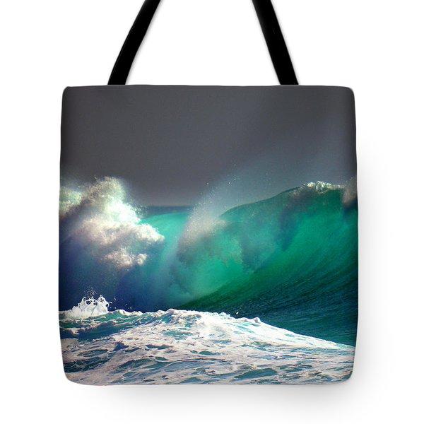 Storm Wave Tote Bag