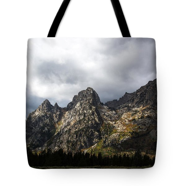 Tote Bag featuring the photograph Storming Light by Colleen Coccia