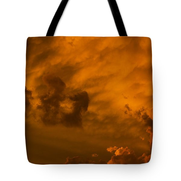 Storms Clouds Tote Bag