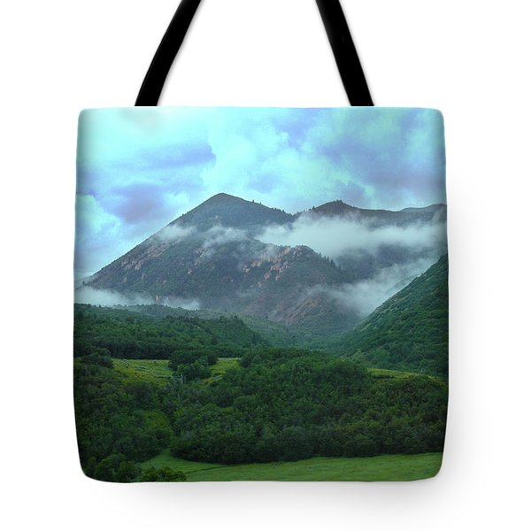 Tote Bag featuring the photograph Storm's End by Marie Leslie