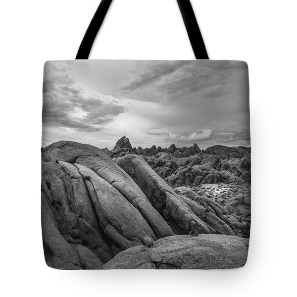 Stormy Afternoon At Alabama Hills Tote Bag