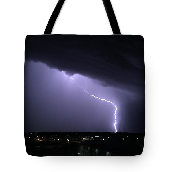 Stormy Art On The Prarie Tote Bag