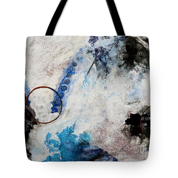 Stormy Bird Tote Bag