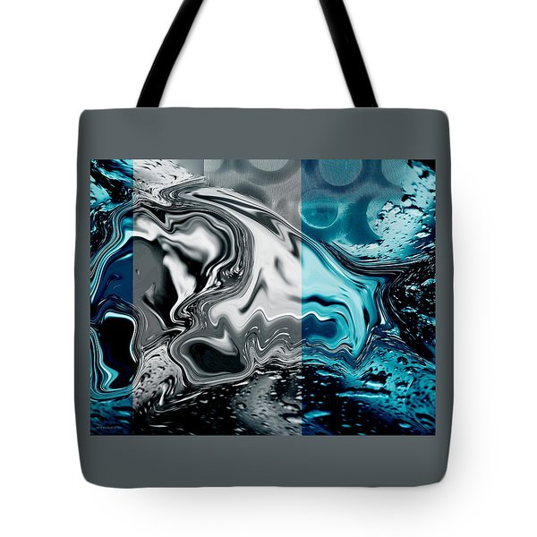Tote Bag featuring the photograph Stormy Day. by Steve Godleski
