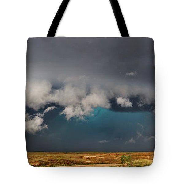 Stormy Horizon Tote Bag
