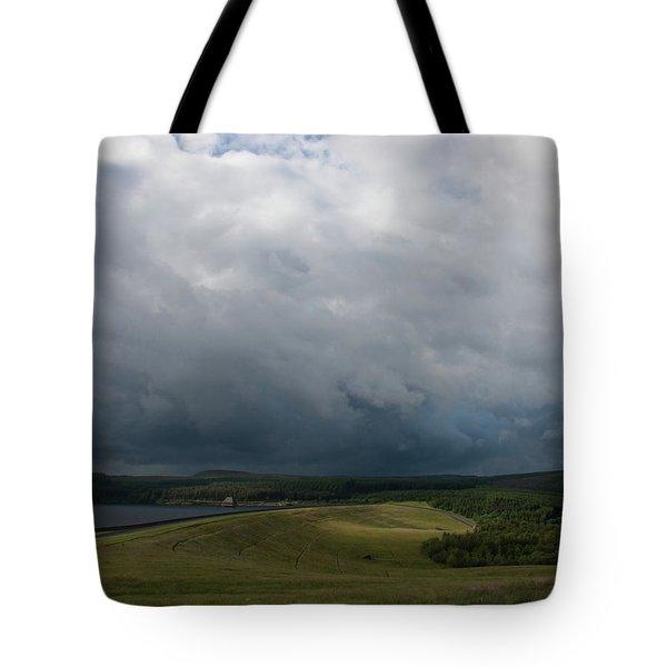 Stormy Kielder Tote Bag
