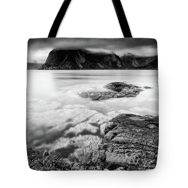 Stormy Lofoten Tote Bag