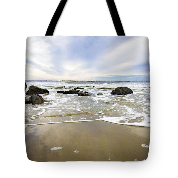 Stormy Maine Morning #1 Tote Bag