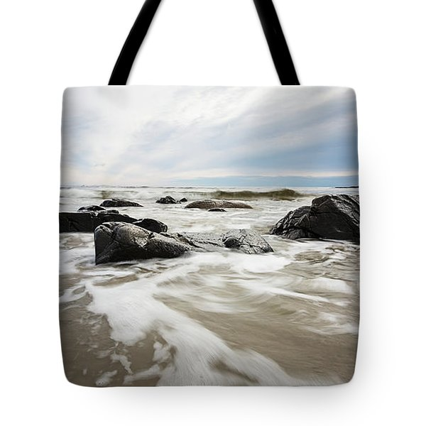 Stormy Maine Morning #3 Tote Bag
