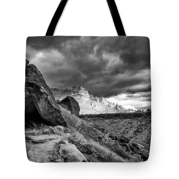 Stormy Misery Ridge  Tote Bag