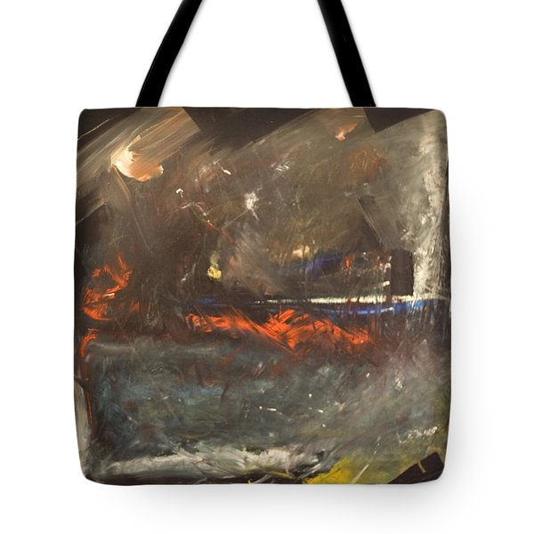 Stormy Monday Tote Bag by Tim Nyberg