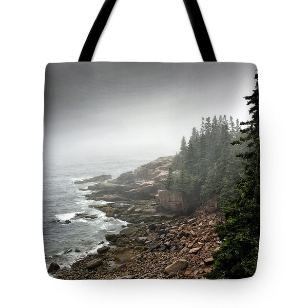 Stormy North Atlantic Coast - Acadia National Park - Maine Tote Bag