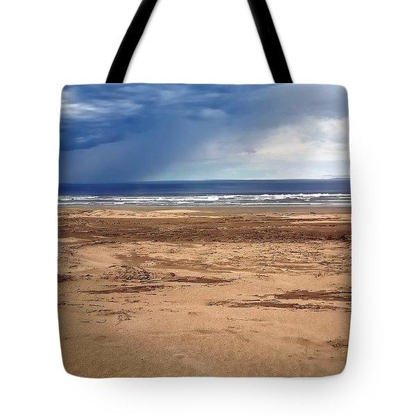 Stormy Nye Beach Tote Bag