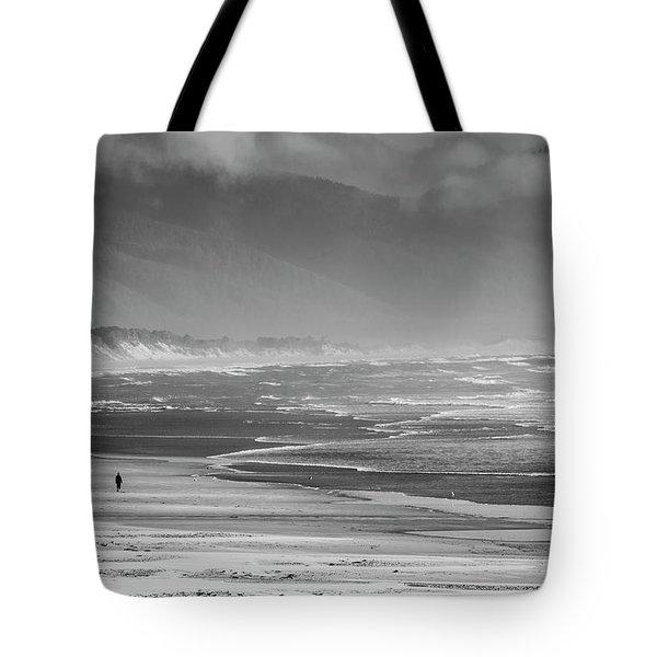 Stormy Oceanside Oregon Tote Bag by Amyn Nasser