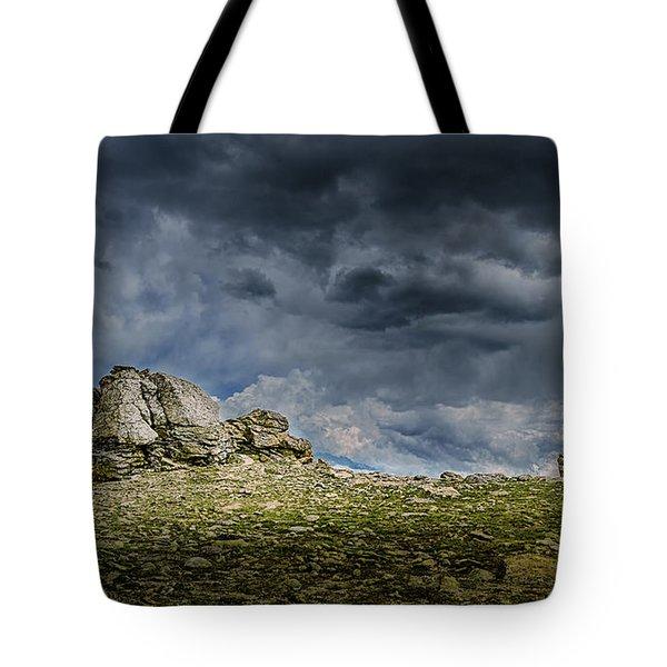 Stormy Peak 1 Tote Bag