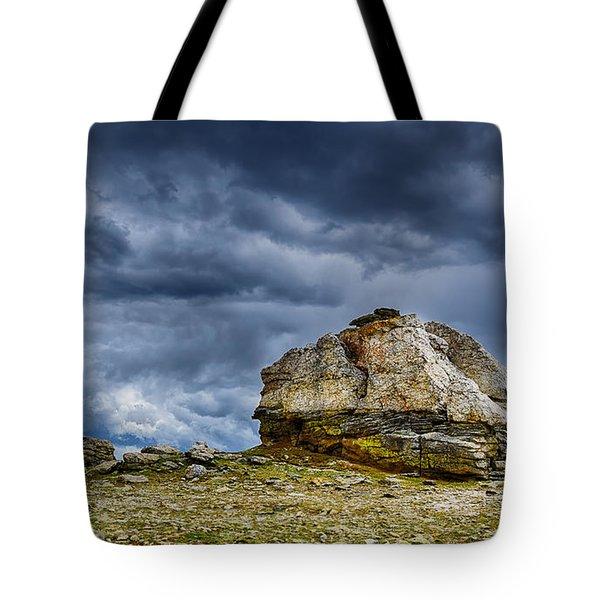 Stormy Peak 2 Tote Bag