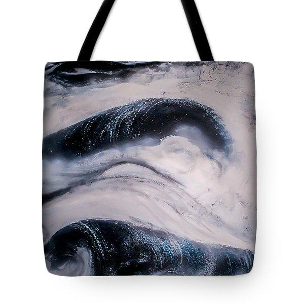 Stormy Rhythms Tote Bag