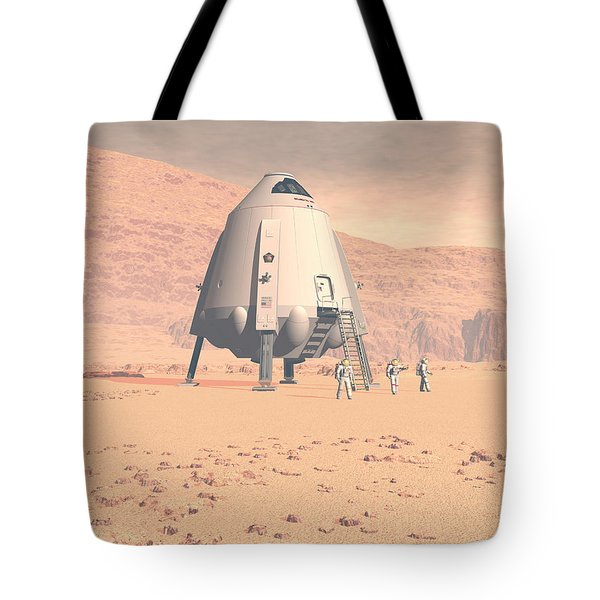 Tote Bag featuring the digital art Stormy Skies by David Robinson