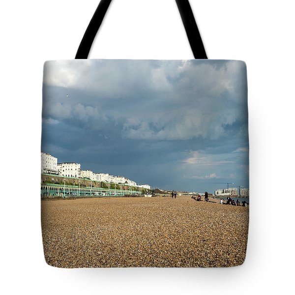 Stormy Skies Tote Bag