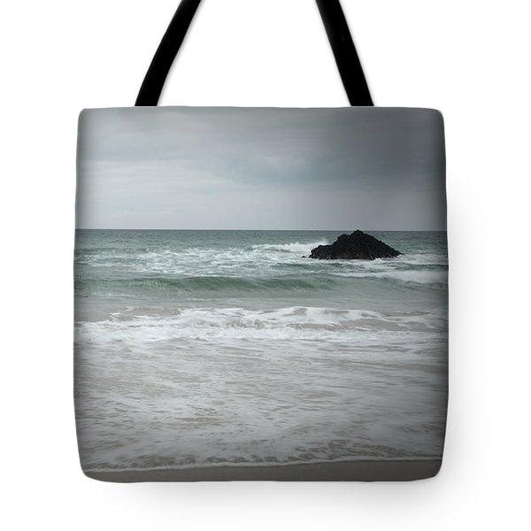Stormy Sky Tote Bag by Helen Northcott