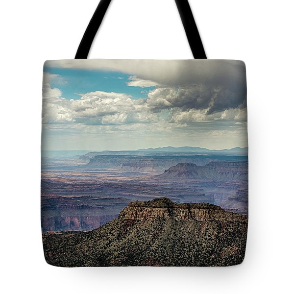 Stormy Sky Past Bridgers Knoll Tote Bag