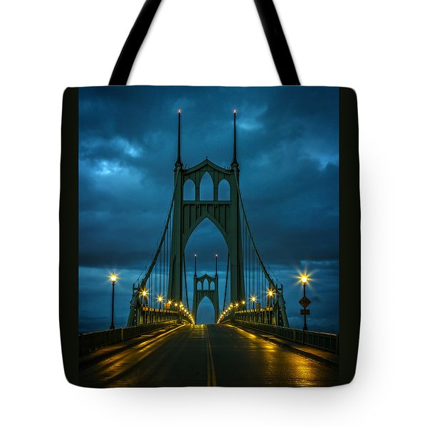 Stormy St. Johns Tote Bag by Wes and Dotty Weber