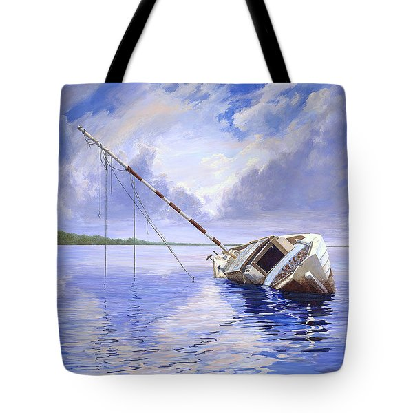 Stormy Summer Tote Bag by AnnaJo Vahle