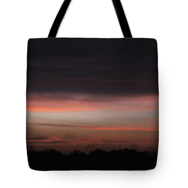 Tote Bag featuring the photograph Stormy Sunset by Mark Dodd