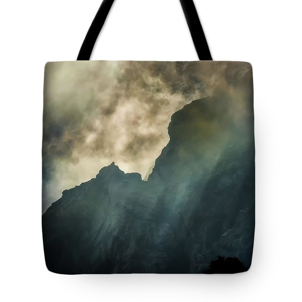 Stormy Wasatch- Rays Tote Bag