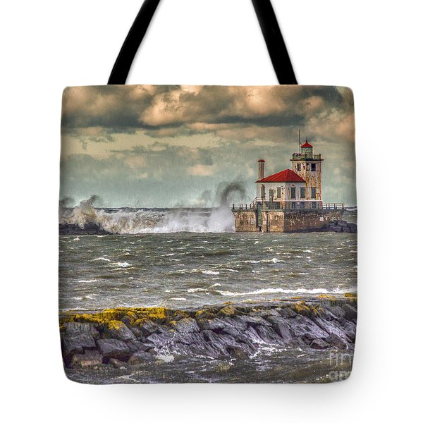 Stormy Waters Tote Bag