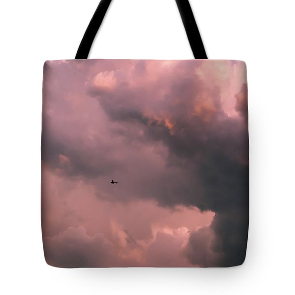 Stormy Weather Tote Bag by Carolyn Dalessandro