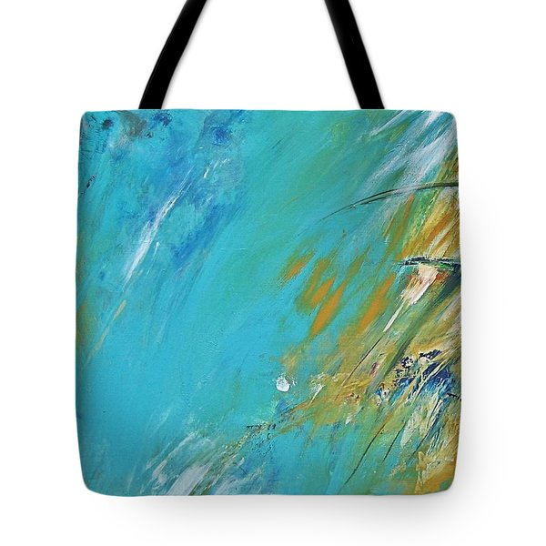 Stormy Weather Tote Bag by Diana Bursztein